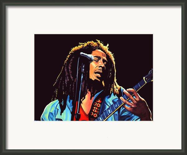 Bob Marley Framed Print By Paul  Meijering