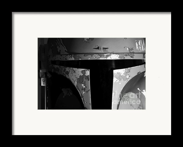 Boba Fett Helmet 29 Framed Print By Micah May