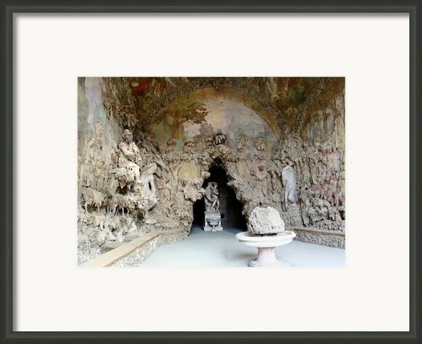 Boboli La Grotta Grande 3 Framed Print By Ellen Henneke