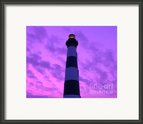Bodie Island Light Sunset Framed Print By Al Powell Photography Usa