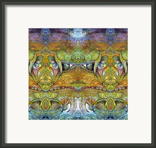 Bogomil Variation 12 Framed Print By Otto Rapp