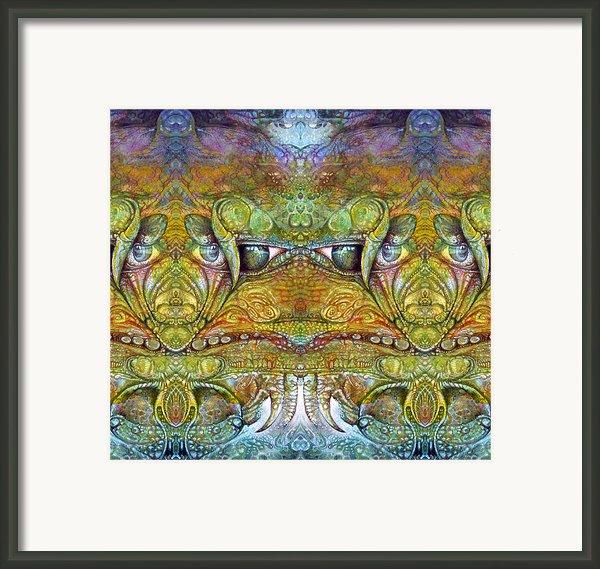 Bogomil Variation 12 Framed Print By Otto Rapp