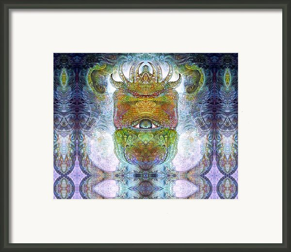 Bogomil Variation 15 Framed Print By Otto Rapp