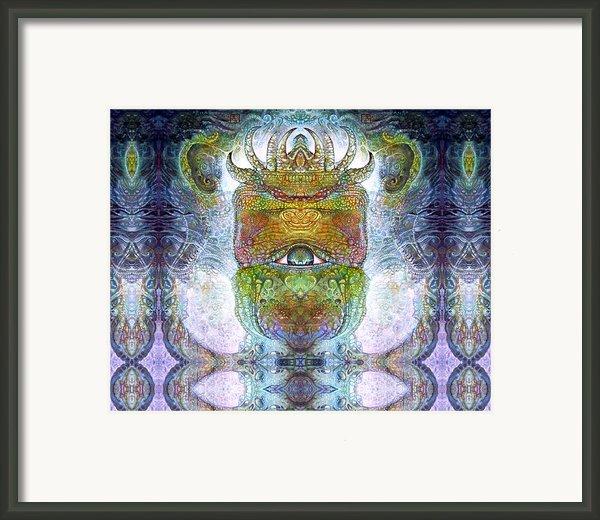 Bogomil Variation 15 Framed Print By Otto Rapp
