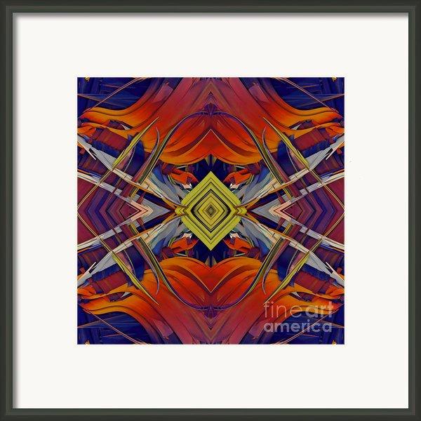 Boldness Of Color Framed Print By Deborah Benoit