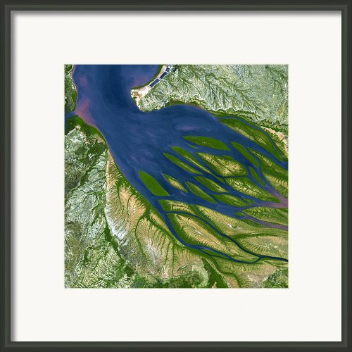 Bombetoka Bay Madagascar Framed Print By Adam Romanowicz