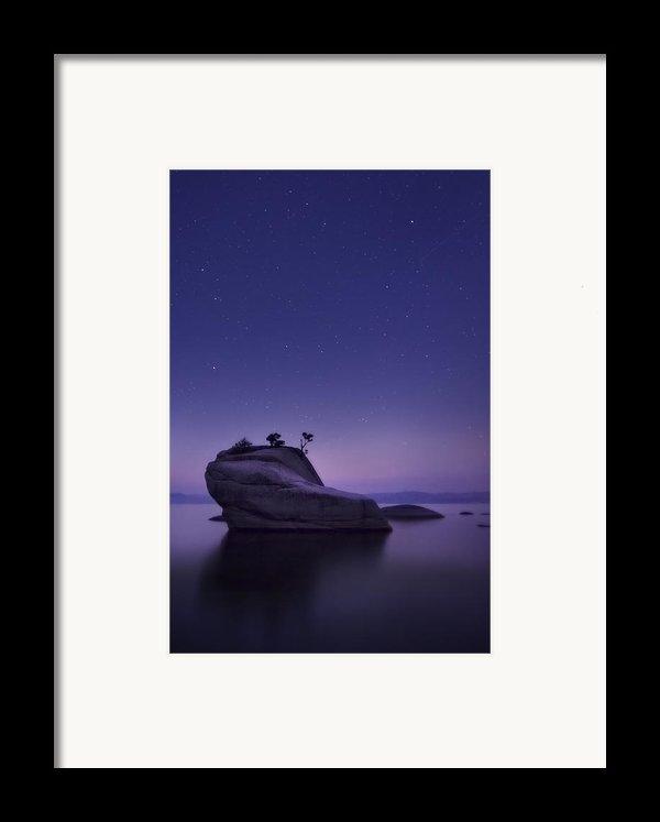 Bonsai Island Framed Print By Sean Foster