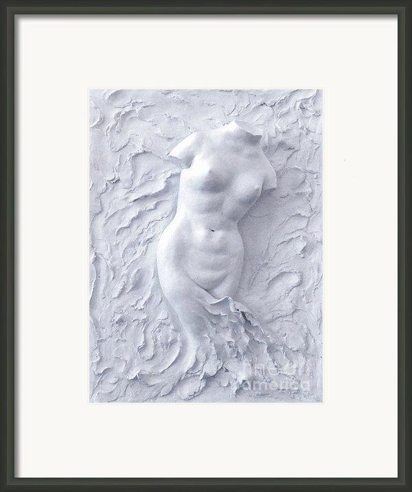 Born Again Framed Print By Elena Fattakova