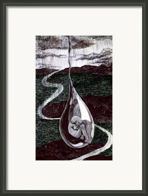Born Framed Print By Kd Neeley