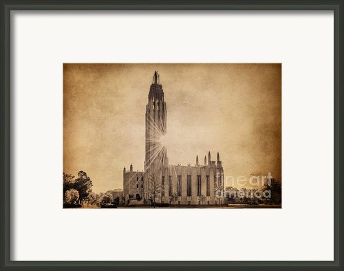 Boston United Methodist Church Framed Print By Tamyra Ayles