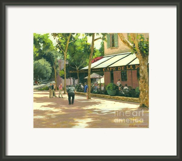 Boule Ball Framed Print By Michael Swanson