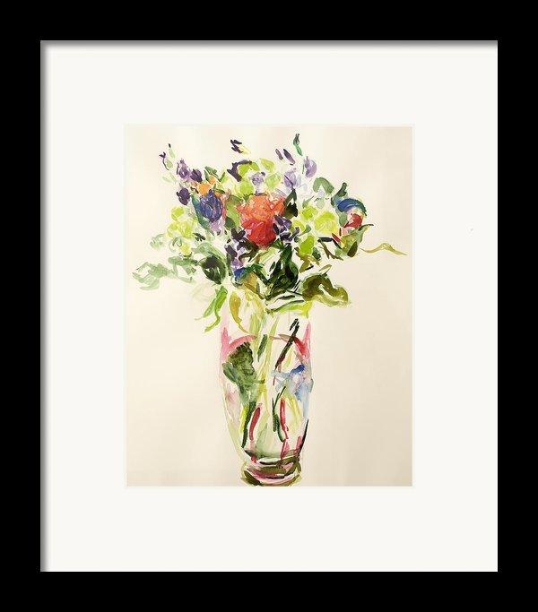 Bouquet  Framed Print By Julie Held