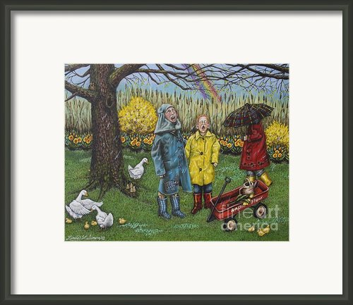 Boys Are Whatever Framed Print By Linda Simon