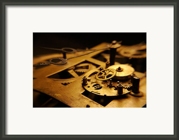 Breach Of Time Framed Print By Jon Emery