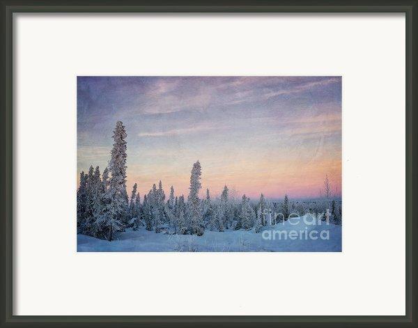 Break Of Dawn Framed Print By Priska Wettstein