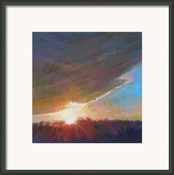 Break Through Framed Print By Ed Chesnovitch