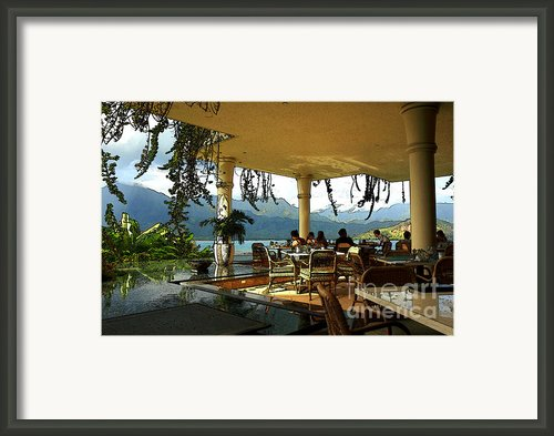 Breakfast In Hanalei Framed Print By James Eddy