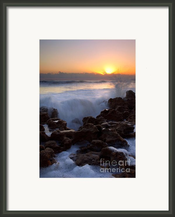 Breaking Dawn Framed Print By Mike  Dawson