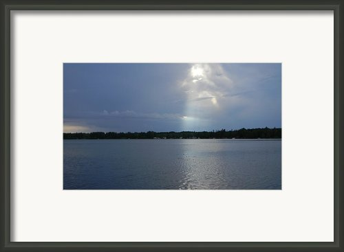 Breaking Through Framed Print By Mark Minier