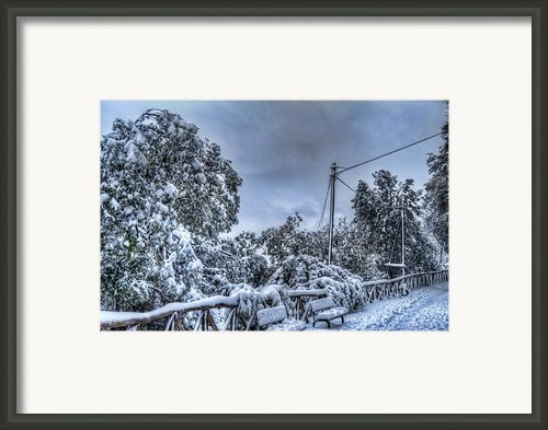 Breath Of Winter Framed Print By Federico Napoleoni
