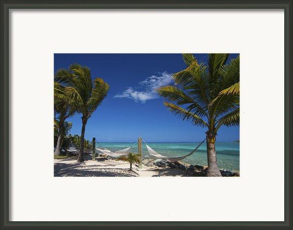 Breezy Island Life Framed Print By Adam Romanowicz