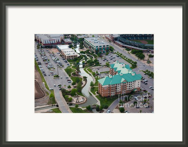 Bricktown Ballpark C Framed Print By Cooper Ross