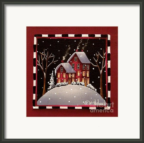 Bridgeton Lane Framed Print By Catherine Holman