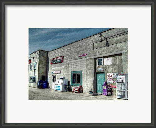 Bridgewater Depot Framed Print By Mj Olsen