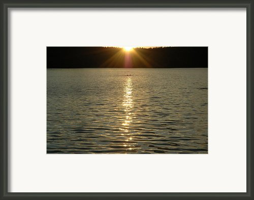 Brighter Days Are Ahead Framed Print By John Sarnie