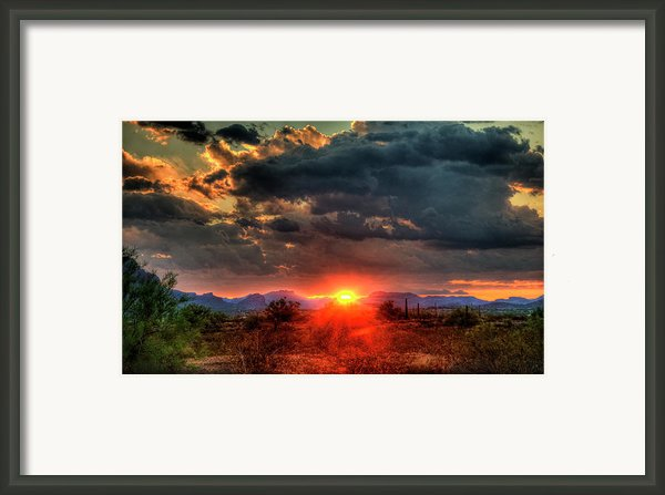 Brilliance Framed Print By Saija  Lehtonen