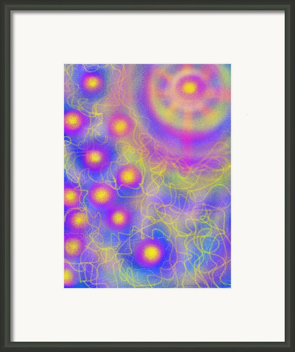 Brilliance Upon A Star Framed Print By Daina White