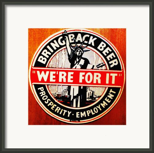 Bring Back Beer - We