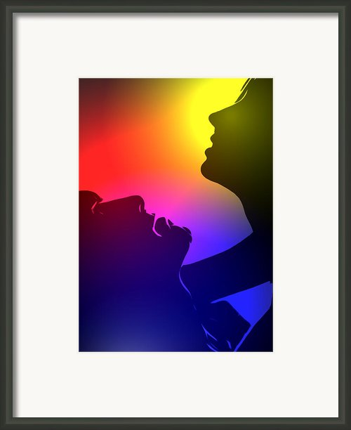 Bring Me Into The Light Framed Print By Stefan Kuhn