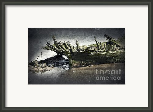 Broken And Forgotten  Framed Print By Svetlana Sewell