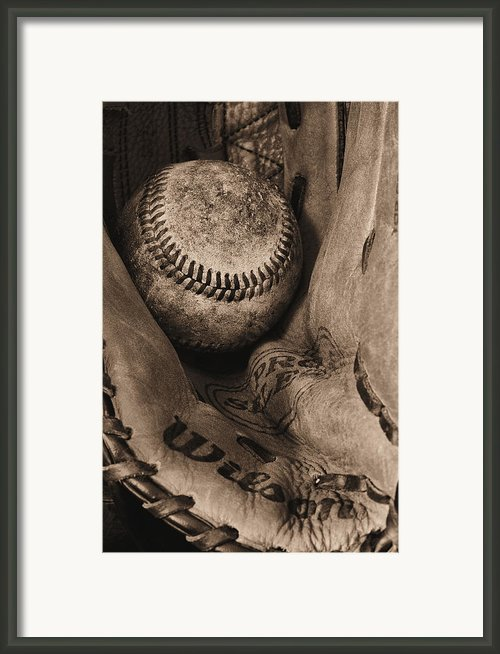 Broken In Bw Framed Print By Jc Findley