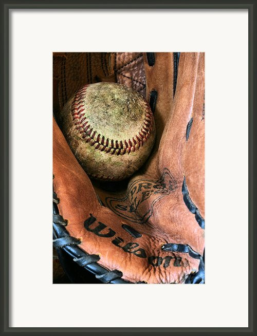 Broken In Framed Print By Jc Findley