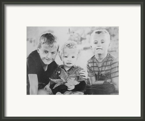 Brothers Framed Print By James Obert