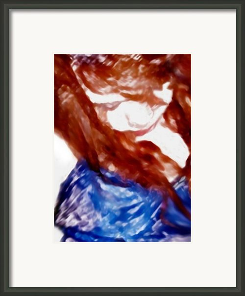 Brown Eyed Girl Framed Print By Dennis Buckman