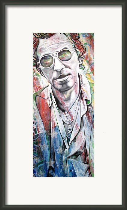 Bruce Springsteen Framed Print By Joshua Morton