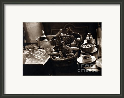 Brunch In The Loire Valley Framed Print By Madeline Ellis
