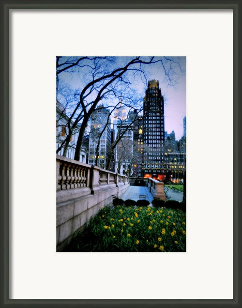 Bryant Night Framed Print By Emily Stauring