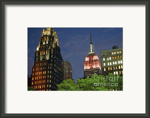 Bryant Park View Framed Print By Christopher Woods
