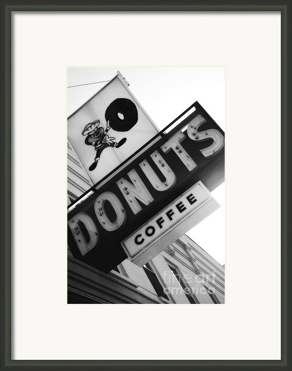 Buckeye Donuts Framed Print By Rachel Counts