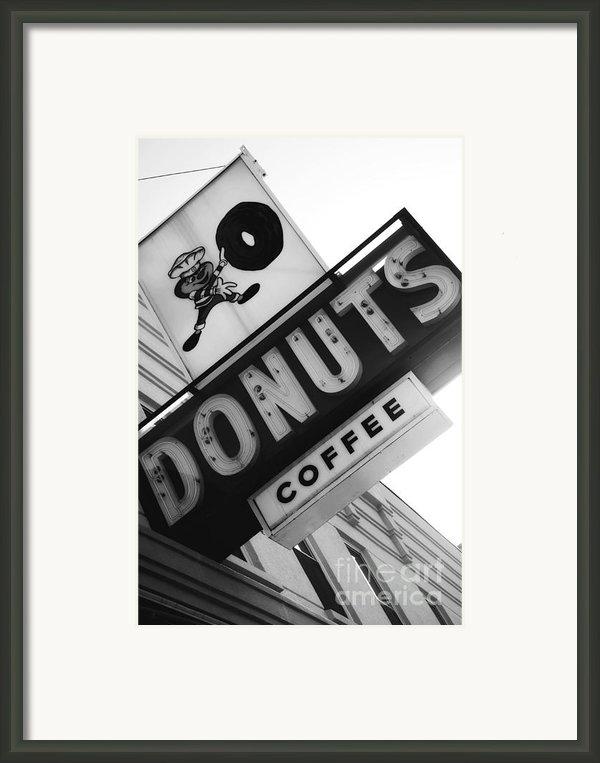 Buckeye Donuts Framed Print By Rachel Barrett