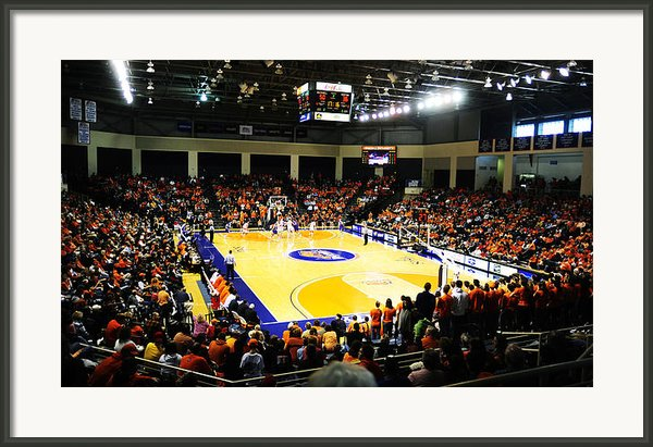 Bucknell Bison Sojka Pavilion Framed Print By Replay Photos