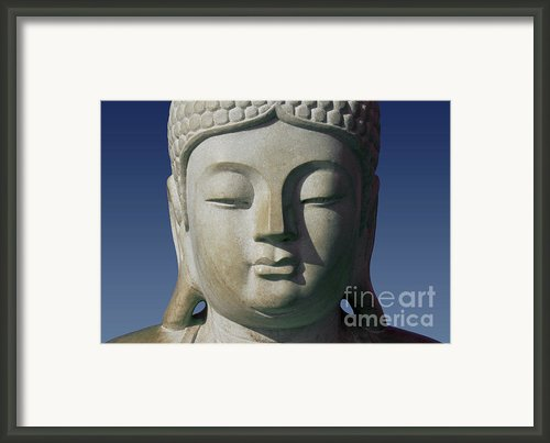 Buddha Framed Print By George Siedler