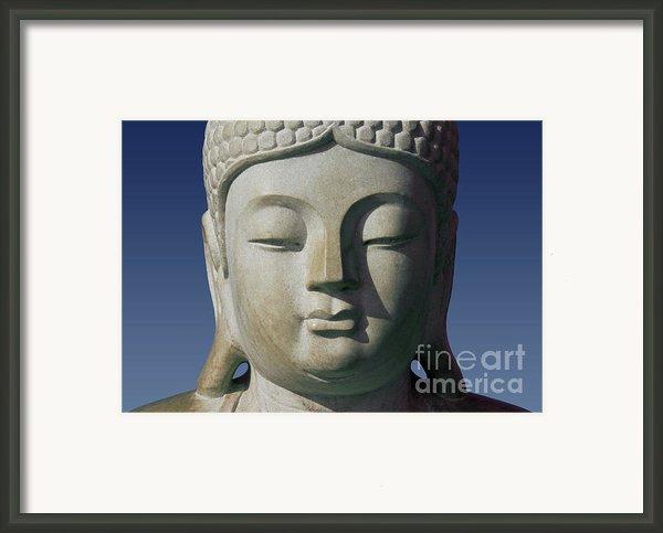 Buddha Framed Print By George Siedler