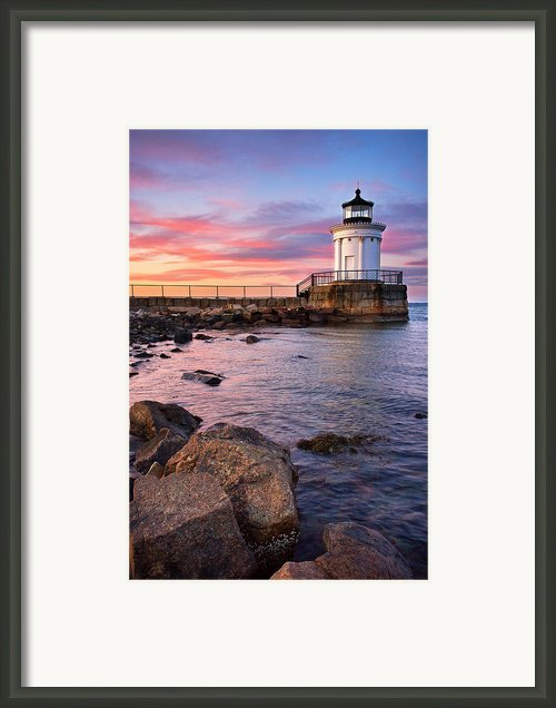 Bug Light Park Framed Print By Benjamin Williamson