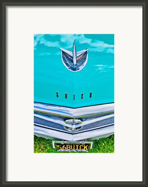 Buick Grill Framed Print By Phil