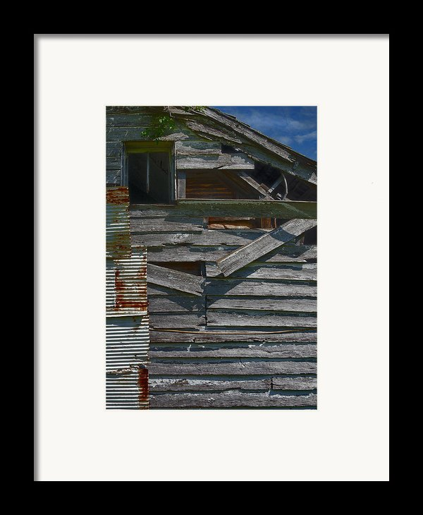 Building Materials Framed Print By Murray Bloom